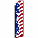 USA Star Spangled Swooper Flag