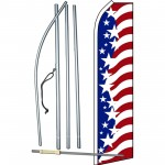 USA Star Spangled Swooper Flag Bundle