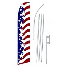 USA Star Spangled Swooper Flag Bundle