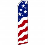 USA New Glory Swooper Flag