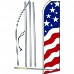 USA New Glory Swooper Flag Bundle