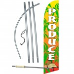 Produce Super Windless Swooper Flag Bundle