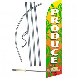 Produce Super Windless Swooper Flag Bundle