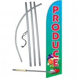Produce Windless Swooper Flag Bundle