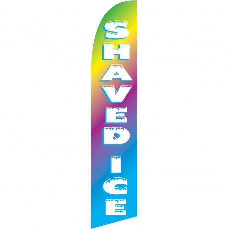 Shaved Ice Windless Swooper Flag