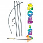 Shaved Ice Super Windless Swooper Flag Bundle