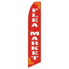 Flea Market Red Swooper Flag