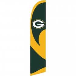 Green Bay Packers Windless Swooper Flag