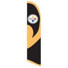 Pittsburgh Steelers Windless Swooper Flag