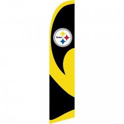 Pittsburgh Steelers Windless Swooper Flag