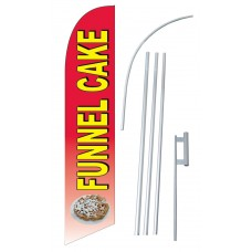 Funnel Cake Windless Swooper Flag Bundle