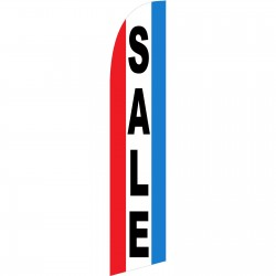 Sale Red White Blue Windless Swooper Flag
