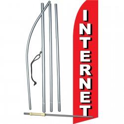 Internet Red Swooper Flag Bundle