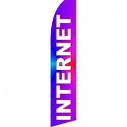 Internet Purple Swooper Flag