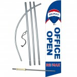 REMAX Open Office Windless Swooper Flag Bundle