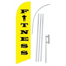 Fitness Windless Swooper Flag Bundle