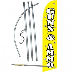 Guns And Ammo Swooper Flag Bundle