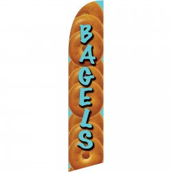 Bagels Windless Swooper Flag