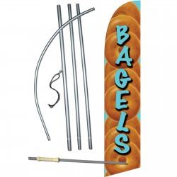 Bagels Windless Swooper Flag Bundle