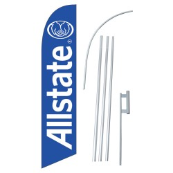 ALLSTATE Windless Swooper Flag Bundle