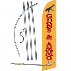 Guns & Ammo Windless Swooper Flag Bundle