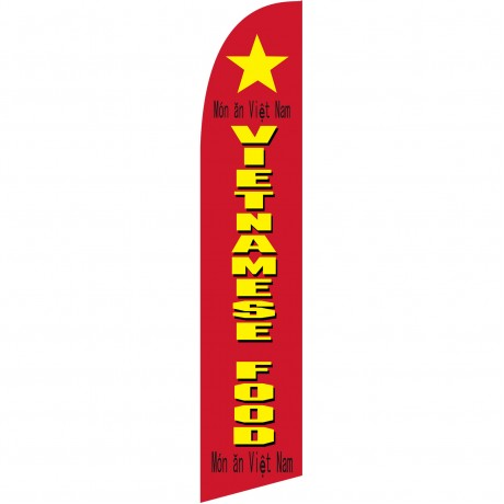 Vietnamese Food Windless Swooper Flag