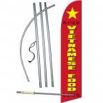 Vietnamese Food Windless Swooper Flag Bundle