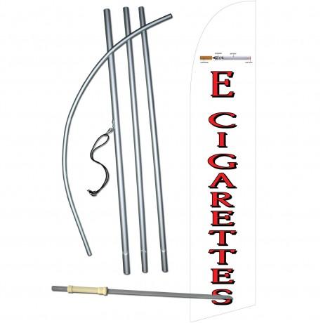 E-CIGS Windless Swooper Flag Bundle