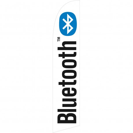 Bluetooth Windless Swooper Flag