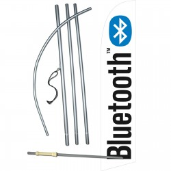 Bluetooth Windless Swooper Flag Bundle