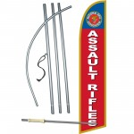 ASSAULT RIFLES Windless Swooper Flag Bundle