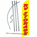 RV Storage Windless Swooper Flag Bundle