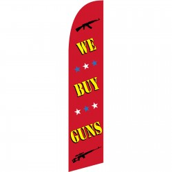 We Buy Guns Windless Swooper Flag