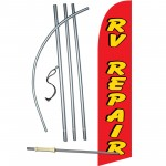 RV Repair Windless Swooper Flag Bundle