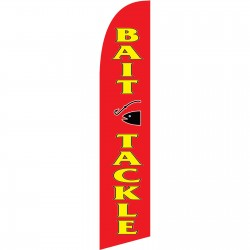 BAIT & Tackle Windless Swooper Flag
