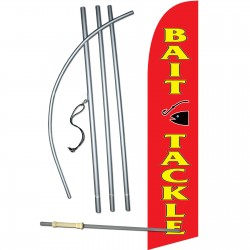 Bait & Tackle Windless Swooper Flag Bundle