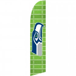 Seattle Seahawks Field Windless Swooper Flag