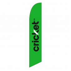 Cricket Green Windless Swooper Flag