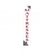 Mattresses Red/White Swooper Flag