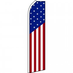 USA American Swooper Flag