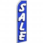 Sale Blue White Swooper Flag