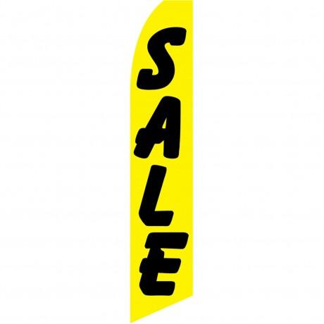 Sale Yellow Black Swooper Flag