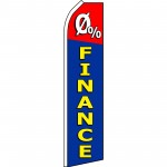 0 Percent Financing Swooper Flag