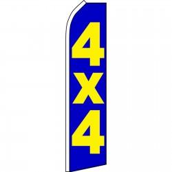 4X4 Swooper Flag