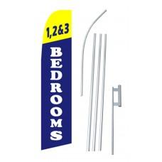 1,2 & 3 Bedrooms Swooper Flag Bundle