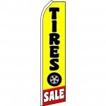 Tire Sale Yellow Swooper Flag
