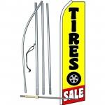 Tire Sale Yellow Swooper Flag Bundle
