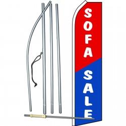 Sofa Sale Red Blue Swooper Flag Bundle