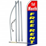 1st Month Free Rent Swooper Flag Bundle