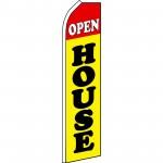 Open House Yellow Swooper Flag